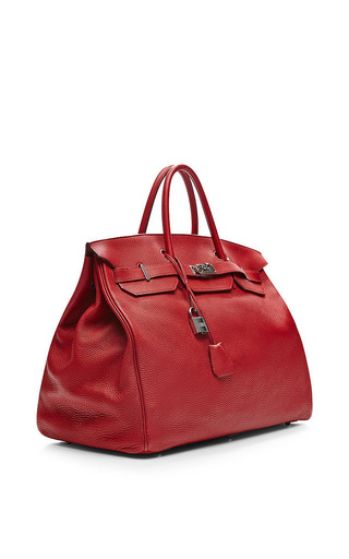 Hermes 50Cm Rouge Garance Togo Birkin by Heritage Auctions Special Collection for Preorder on Moda Operandi