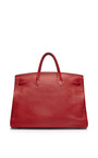 Hermes 50 Cm Rouge Garance Togo Birkin by HERITAGE AUCTIONS SPECIAL COLLECTION for Preorder on Moda Operandi