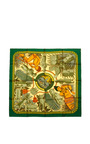 Hermes 90 Cm Tresor Royal Du Benin Silk Scarf by HERITAGE AUCTIONS SPECIAL COLLECTION for Preorder on Moda Operandi
