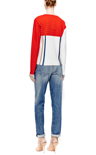 Paneled Wool-Knit Sweater by J.W. Anderson Now Available on Moda Operandi