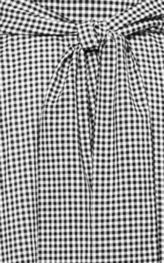 "Beach Skirt 1/9   -   1/4"" gingham by Lisa Marie Fernandez for Preorder on Moda Operandi"