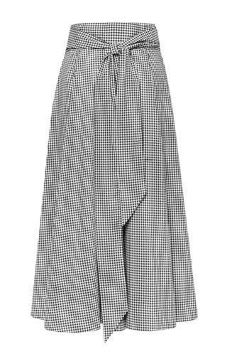 """Lisa Marie Fernandez - Beach Skirt 1/9   -   1/4"""" gingham"""