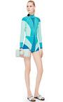 Perrin Paris Lagoon Glove Clutch by PERRIN PARIS for Preorder on Moda Operandi