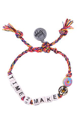 Venessa Arizaga Time 2 Make Donuts Bracelet by Venessa Arizaga for Preorder on Moda Operandi