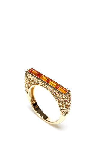 Jane taylor one of a kind garnet ring by JANE TAYLOR Preorder Now on Moda Operandi