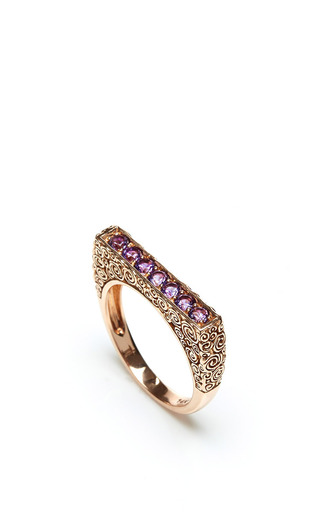 Jane taylor amethyst ring by JANE TAYLOR Preorder Now on Moda Operandi