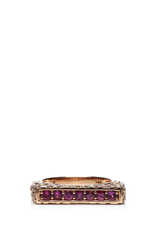 Jane Taylor Pink Sapphire Ring by JANE TAYLOR for Preorder on Moda Operandi