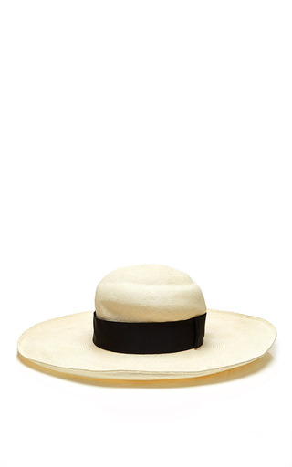 Valdez white bahia panama hat by VALDEZ PANAMA HATS Preorder Now on Moda Operandi