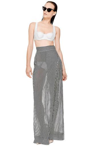 Osklen Striped Trousers by OSKLEN for Preorder on Moda Operandi