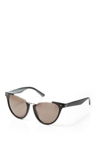 Grey ant black pearl sunglasses by GREY ANT Preorder Now on Moda Operandi