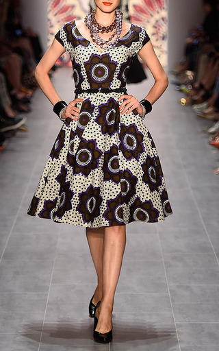 Lena Hoschek - Chocolate Stars Makeba Dress