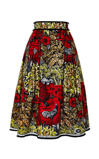 Congo skirt by LENA HOSCHEK Preorder Now on Moda Operandi