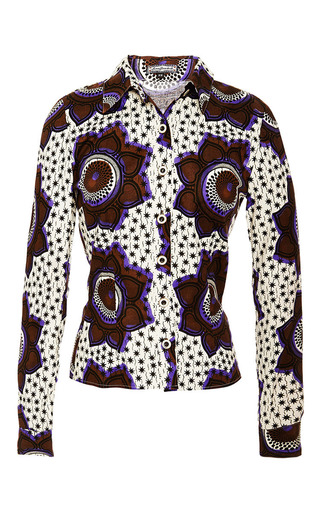 Impala Blouse by LENA HOSCHEK Now Available on Moda Operandi