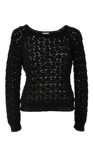 Lion pullover by LENA HOSCHEK Preorder Now on Moda Operandi