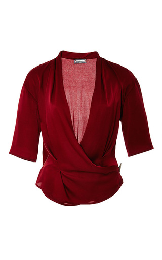Malawi blouse by LENA HOSCHEK Preorder Now on Moda Operandi