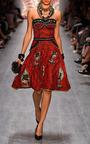 Pata Pata Dress by Lena Hoschek for Preorder on Moda Operandi