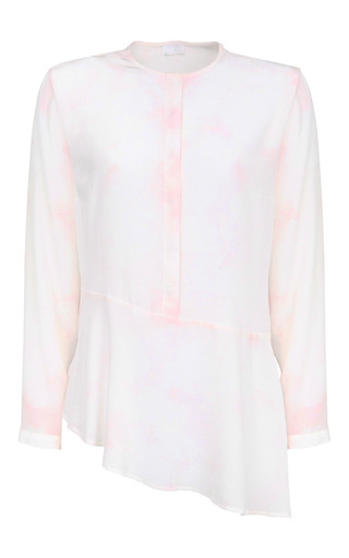 Davy batik blouse by LALA BERLIN Preorder Now on Moda Operandi