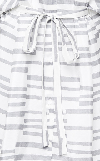 Perret Schaad - Gunnar Dress In Grey Print