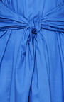 Son Dress In Blue by Perret Schaad for Preorder on Moda Operandi
