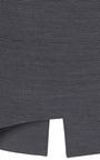 Perret Schaad - Gunther Pencil Skirt In Blue Pique
