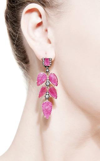 One Of A Kind Old European Cut Earrings by SYLVA & CIE for Preorder on Moda Operandi