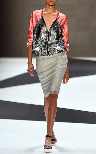 Stellar Bomber Jacket by Ioana Ciolacu for Preorder on Moda Operandi
