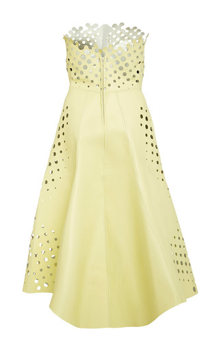Target Dress In Cosmic Latte by Ioana Ciolacu for Preorder on Moda Operandi