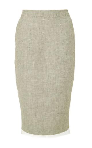 Greyhound skirt by IOANA CIOLACU Preorder Now on Moda Operandi