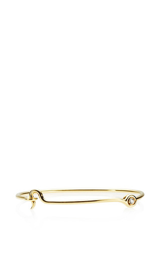 Thin Hook Bracelet by Janis Savitt for Preorder on Moda Operandi