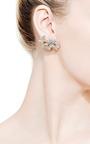 Small Lotus Flower Earrings by KWIAT for Preorder on Moda Operandi