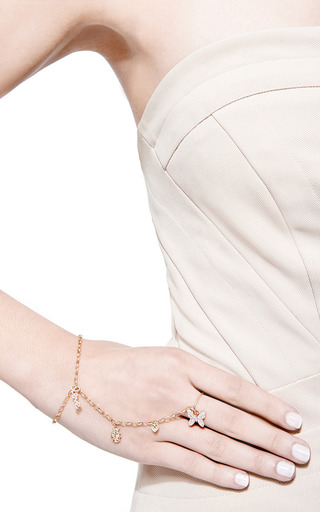 Sydney Evan - Diamond And Ruby Princess Bracelet