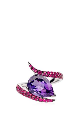 Shaun Leane - Ruby Aurora Ring Set