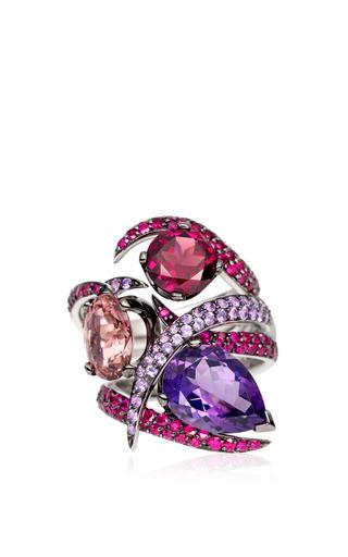 Ruby Aurora Ring Set by Shaun Leane for Preorder on Moda Operandi