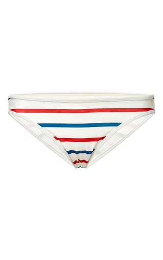 The miranda tri stripe bottom by SOLID & STRIPED Available Now on Moda Operandi