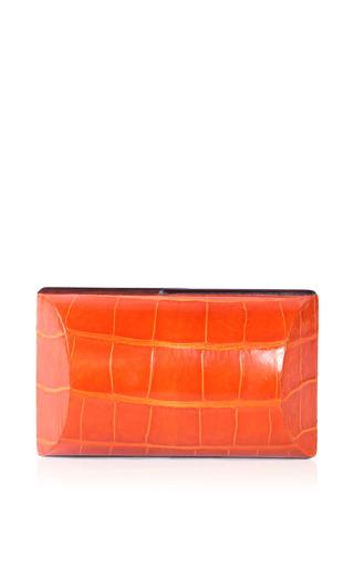 Celestina - Mango Clutch In Orange