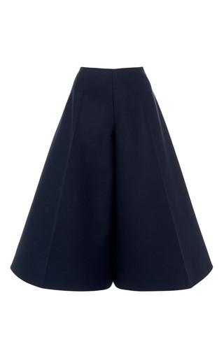Double poplin wide leg pants by DELPOZO Available Now on Moda Operandi