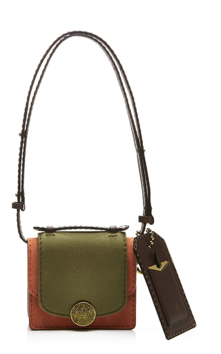 Mini trouble leather bag by MARC JACOBS Now Available on Moda Operandi