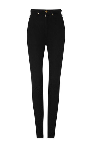 Black denim pant by RODARTE Now Available on Moda Operandi