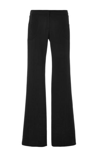 Black flare leg trouser by DEREK LAM Now Available on Moda Operandi