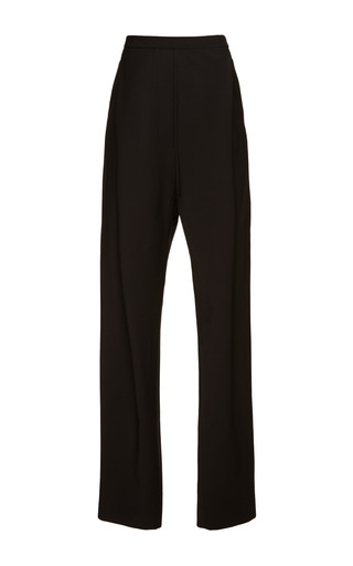 Dewy wide leg crease front pant charcoal blue by ELLERY Now Available on Moda Operandi