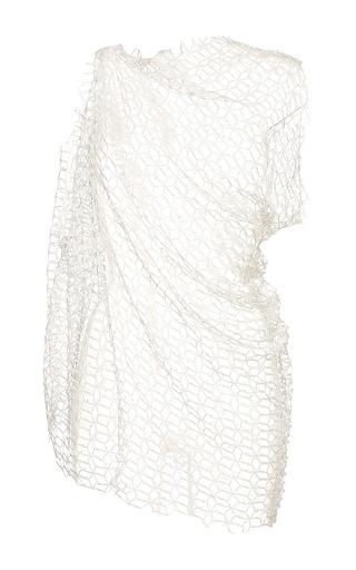Ivory jasper sleeveless drape top by ELLERY Available Now on Moda Operandi
