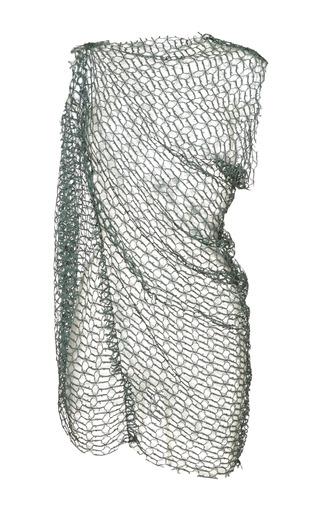 Jasper sleeveless drape top in muted green by ELLERY Now Available on Moda Operandi