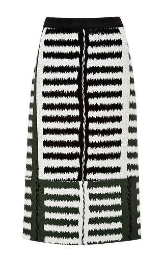 Stretch jacquard print skirt by MARNI Available Now on Moda Operandi