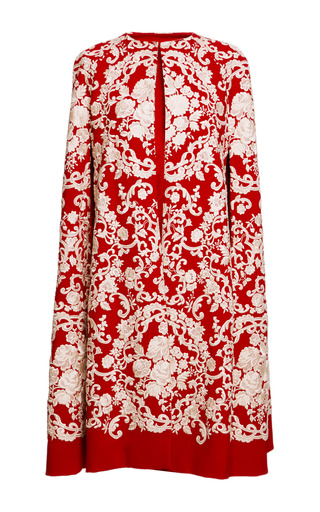 Embroidered Cady Cape By Dolce Amp Gabbana  Moda Operandi