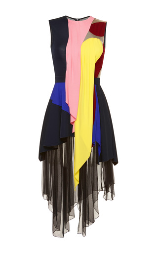 Pink haze dress by PETER PILOTTO Now Available on Moda Operandi