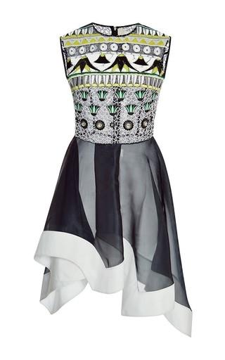 Embellished silk tessera dress by PETER PILOTTO Available Now on Moda Operandi