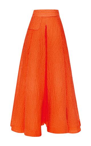 Clemence silk jacquard overskirt by EMILIA WICKSTEAD Available Now on Moda Operandi