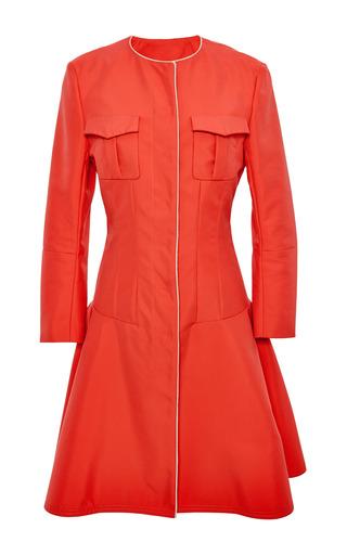 Capucine cotton coat by NINA RICCI Now Available on Moda Operandi