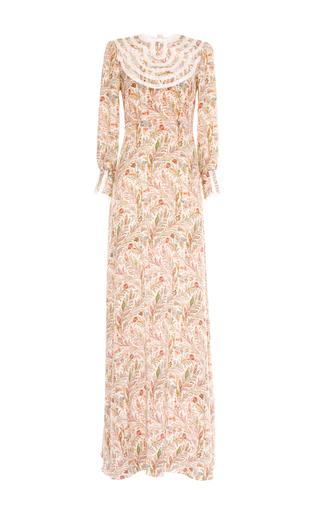 Izolda silk paisley maxi dress by VILSHENKO Available Now on Moda Operandi