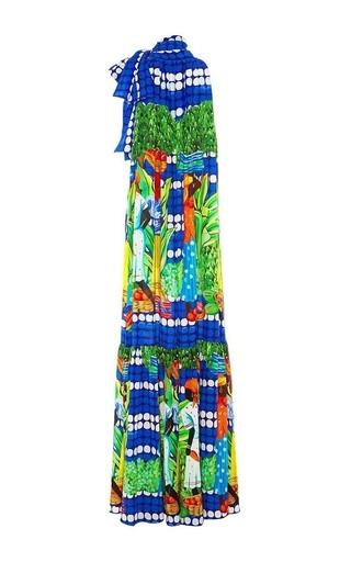 Sordone printed maxi halter dress by STELLA JEAN Available Now on Moda Operandi